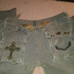 Military Stoned Robin Jeans
